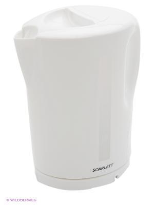 Чайник Scarlett SC-EK14E02 белый 1.7л. 2200Вт (пластик). Цвет: белый