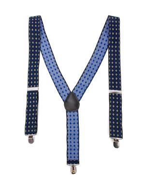 Подтяжки GREG. Цвет: черный, белый, синий