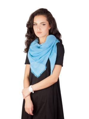 Платок Элеганс (светло-голубой) Le Motif Couture. Цвет: светло-голубой