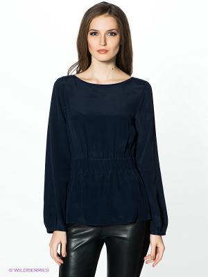 Блузка PINKO. Цвет: темно-синий