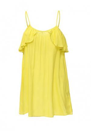 Платье пляжное Phax. Цвет: желтый
