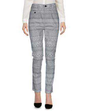 Повседневные брюки DENHAM. Цвет: серый