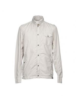 Куртка NEMEN. Цвет: светло-серый