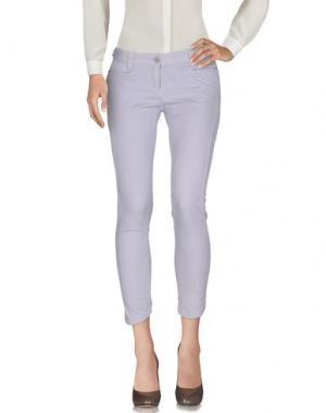Повседневные брюки PF PAOLA FRANI. Цвет: сиреневый