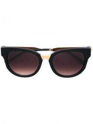 Солнцезащитные очки в квадратной оправе Thierry Lasry. Цвет: чёрный