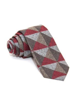 Галстук Churchill accessories. Цвет: темно-синий, синий, темно-зеленый, темно-бордовый, оливковый, темно-красный, терракотовый, бордовый, коричневый, красный