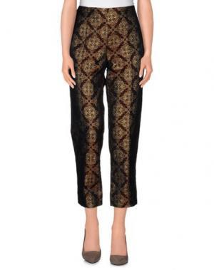 Повседневные брюки SHIRTAPORTER. Цвет: какао
