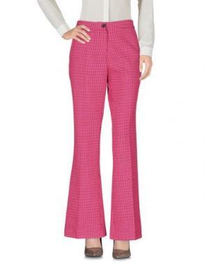 Повседневные брюки YANG LI. Цвет: фуксия