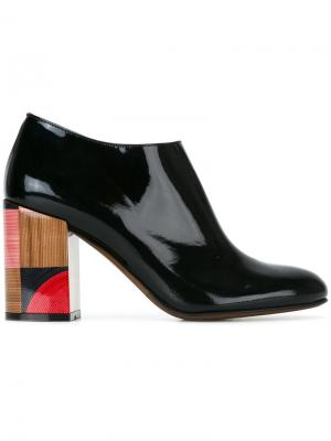 Сапоги с геометрическим принтом на каблуке LAutre Chose L'Autre. Цвет: чёрный