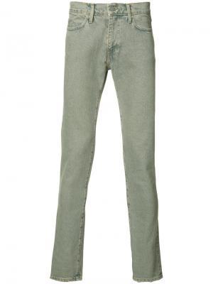Выбеленные джинсы кроя скинни 424 Fairfax. Цвет: синий