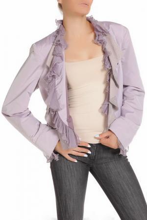 Куртка Mazzi. Цвет: сиреневый