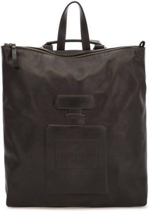Сумка-рюкзак из мягкой кожи на молнии Io Pelle. Цвет: коричневый