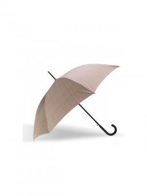 Зонт Isotoner. Цвет: бежевый, коричневый