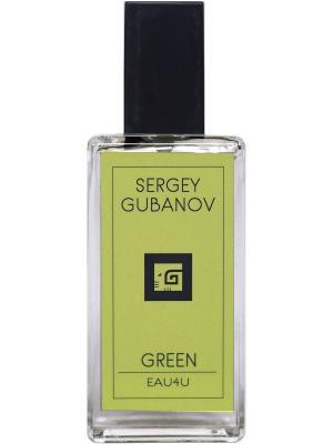 Парфюм GREEN 009, 30 мл Sergey Gubanov. Цвет: желтый