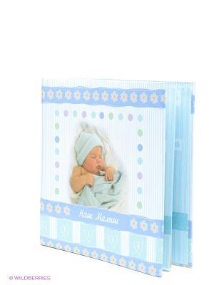 Фотоальбом-анкета Наш Малыш VELD-CO. Цвет: голубой