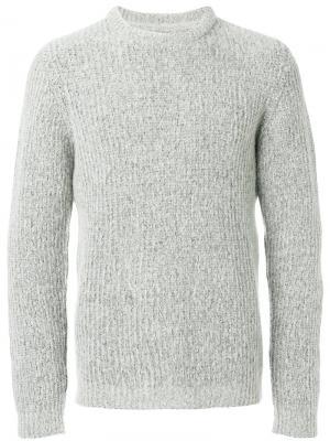 Ворсистый свитер Arild Norse Projects. Цвет: серый