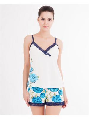 Пижама Mark Formelle. Цвет: кремовый