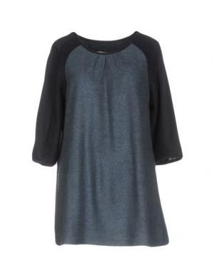 Блузка BONSUI. Цвет: пастельно-синий