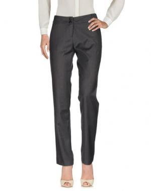 Повседневные брюки EMISPHERE. Цвет: свинцово-серый
