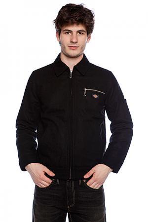 Куртка  Kieran Jacket True Black Dickies. Цвет: черный