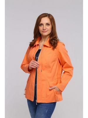 Куртка ВИТА. Цвет: оранжевый