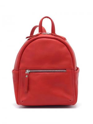 Рюкзак Solo true bags. Цвет: красный, коралловый