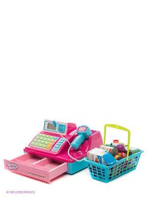 Супермаркет Amore Bello. Цвет: розовый, зеленый, голубой