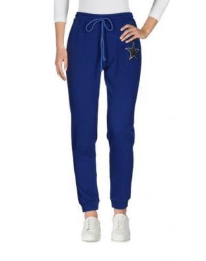 Повседневные брюки MY T-SHIRT. Цвет: синий