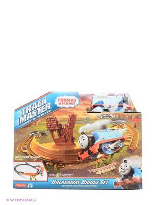 Томас и его друзья Игровой набор Сломанный мост THOMAS & FRIENDS. Цвет: серо-голубой, бежевый, персиковый