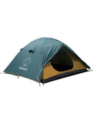 Палатка Гори 3 Nova tour. Цвет: зеленый