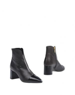 Полусапоги и высокие ботинки ATELIER MERCADAL. Цвет: темно-коричневый