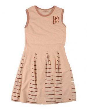 Платье SCOTCH R'BELLE. Цвет: телесный