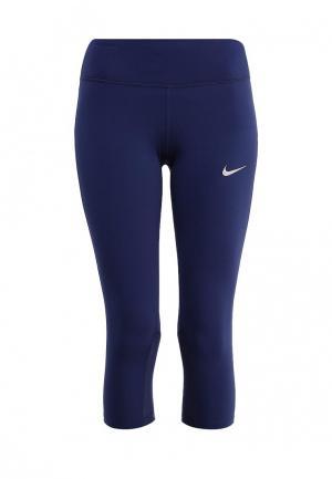 Капри Nike. Цвет: синий