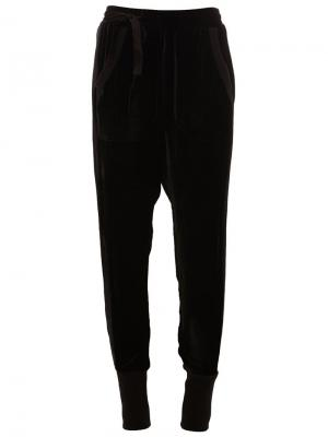 Зауженные брюки Phonecall A.F.Vandevorst. Цвет: чёрный