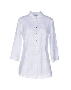 Pубашка JEANS & POLO. Цвет: светло-серый