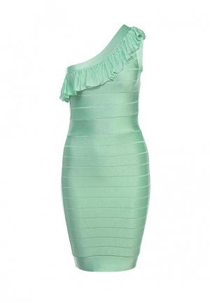 Платье French Connection. Цвет: мятный