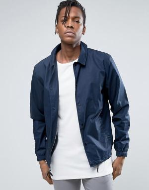 Selected Homme Спортивная куртка. Цвет: синий