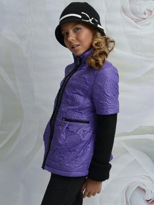Куртка DESTY. Цвет: сиреневый