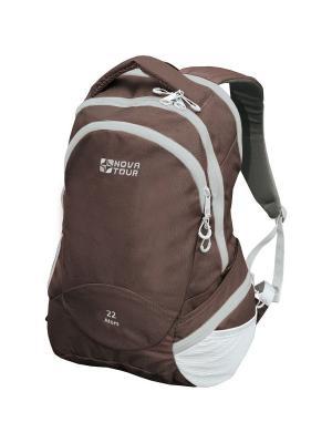 Рюкзак деловой Атом 22 Nova tour. Цвет: темно-коричневый