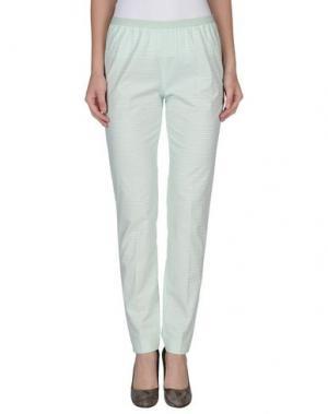 Повседневные брюки QL2 QUELLEDUE. Цвет: светло-зеленый