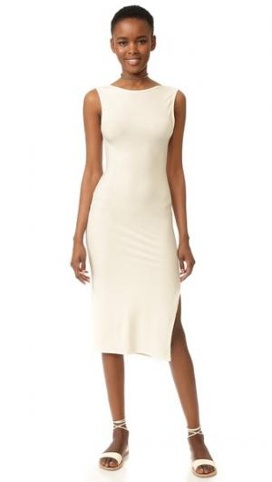 Платье с Jaymes Rachel Pally. Цвет: белый