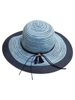 Шляпа Aiyony Macie. Цвет: серый,голубой