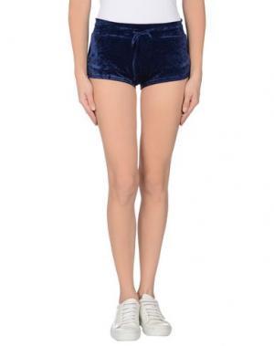 Повседневные шорты F**K PROJECT. Цвет: темно-синий