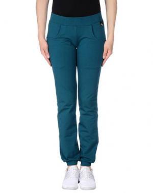Повседневные брюки NAUGHTY DOG. Цвет: зеленый