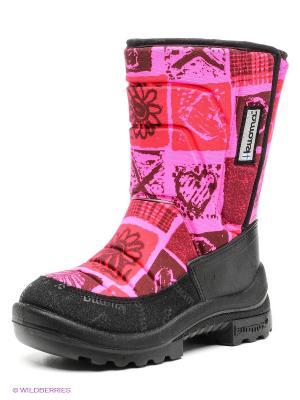 Сапоги KUOMA. Цвет: бордовый, фуксия, розовый, черный