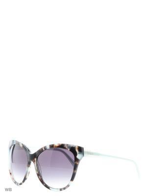 Солнцезащитные очки GU 7330 AJ3 BLTON-35 GUESS. Цвет: коричневый, голубой