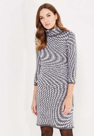 Платье Vay. Цвет: серый