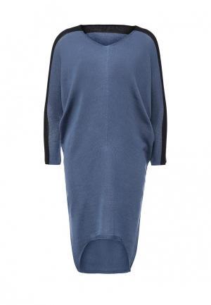 Платье Firkant. Цвет: голубой