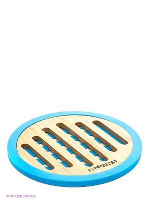 Подставка под горячее Frybest. Цвет: голубой