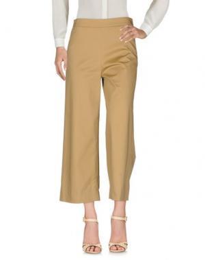 Повседневные брюки ANONYME DESIGNERS. Цвет: хаки